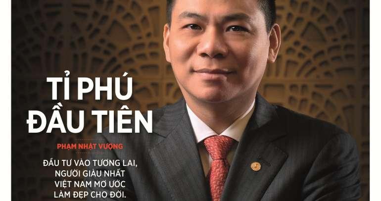 Tỷ phú Phạm Nhật Vượng: Thế giới phải biết Việt Nam trí tuệ, đẳng cấp